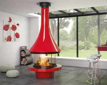 Kamin JC Bordelet – EVA RED